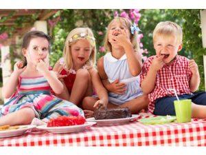 Etude Le Goûter des enfants